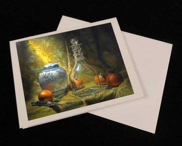 Art Cards - Four Oranges