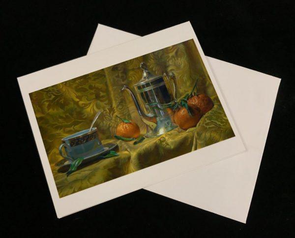 Art Cards - Tea and Oranges