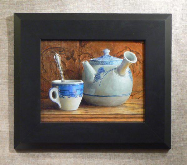Teacup and Kyusu Teapot