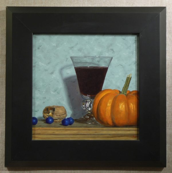 Still Life with Miniature Pumpkin