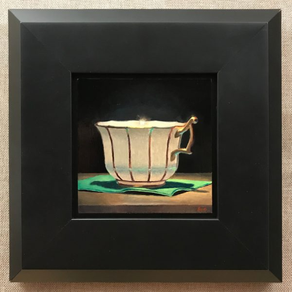 Teacup with Green Napkin