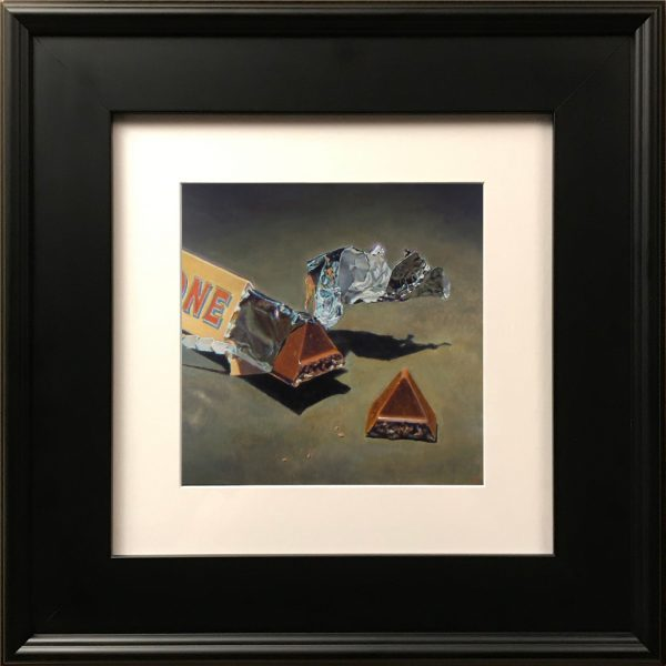 """Chocolate and Foil"" Fine Art Print"