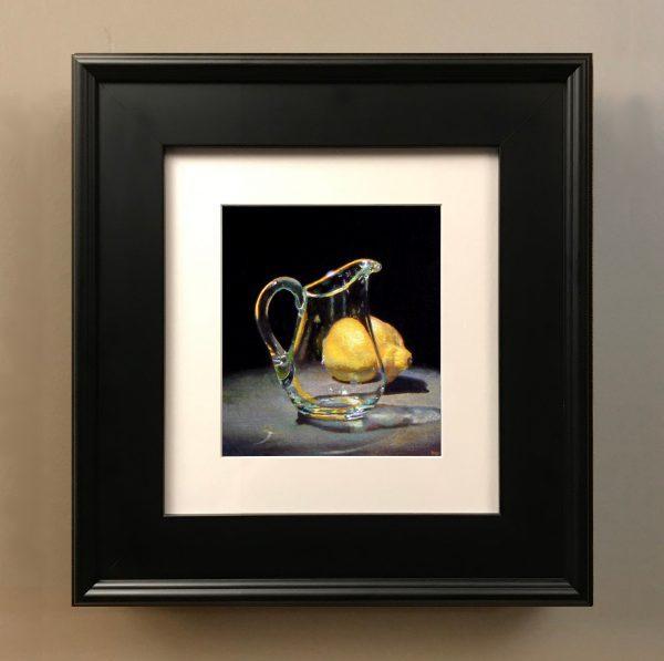 """Glass and Lemon"" Fine Art Print"