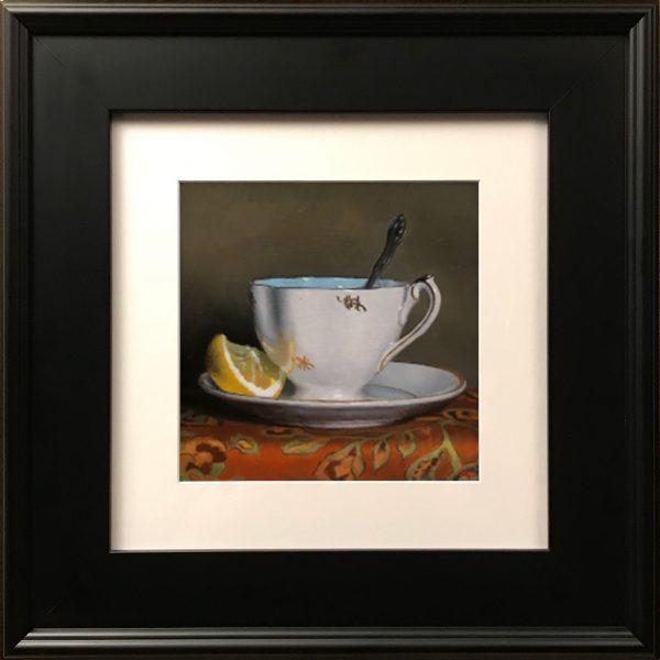 """""""Teacup and Lemon Slice"""" Fine Art Print"""