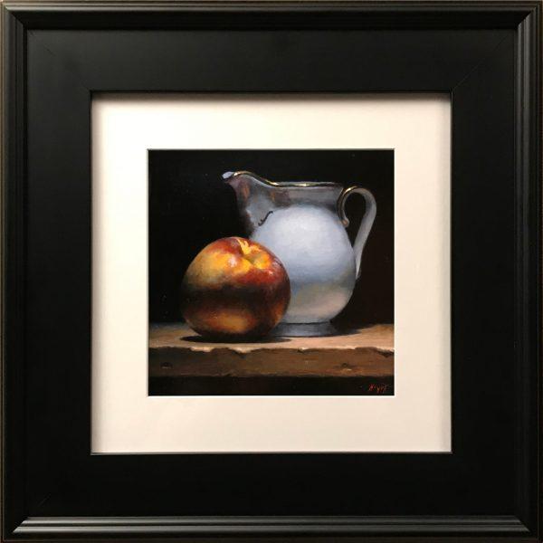 """""""Nectarine and Creamer"""" Fine Art Print"""
