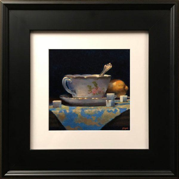 """""""Teacup, Lemon, Sugar Cubes"""" Fine Art Print"""